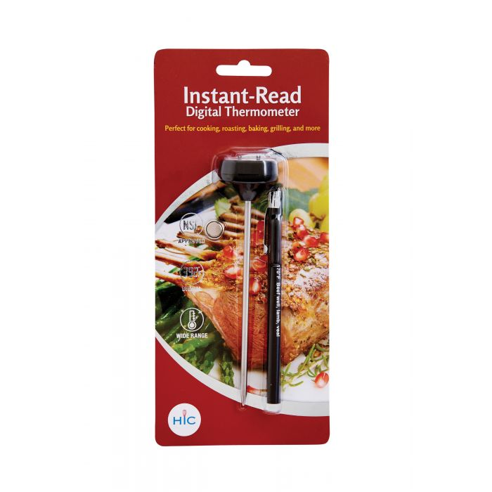 HIC Instant Read Digital Thermometer